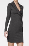 Bella Luxx Funnel Neck Dress BL8051
