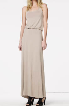 Racerback Blousy Maxi Dress