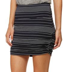 Bella Luxx Shirred Mini Skirt BL8067