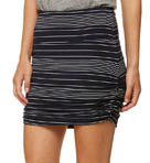 Bella Luxx Shirred Mini Skirt BL8067