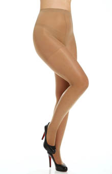 Plus Size Silky Sheer Support Pantyhose