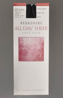 Berkshire Queen Size Sheer Knee High 6451