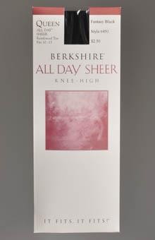 Berkshire Queen Size Sheer Knee High 6451