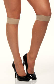 Dots Knee High Socks