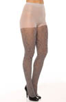 Two Tone Flower Tights