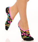 Betsey Johnson Hosiery 3 Pack Gnarly Neon Loafer Socks 30675