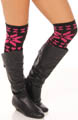 Betsey Johnson Hosiery Hit the Slopes Fair Isle Over the Knee Socks 3820