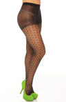 Betsey Johnson Hosiery Hot Dot Sheer Tight 60125