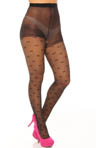 Betsey Johnson Hosiery All Tied Up Sheer Tight 60196