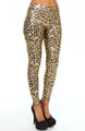 Liquid Leopard Metallic Legging Image