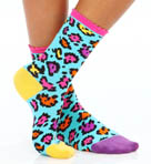 Betsey Johnson Hosiery Cat Nap Crew Socks 8624