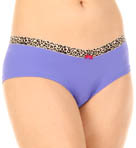 Betsey Johnson Intimates Microfiber Everyday Girl Leg Panty 720355