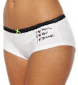 I Heart Stretch Cotton Lo Rise Boyshort Panty Image