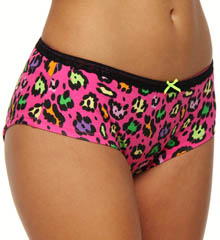 Betsey Johnson Intimates : Betsey Johnson Intimates 720509 Stretch Cotton Lo Rise Boyshort Panty