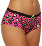 Betsey Johnson Intimates Stretch Cotton Lo Rise Boyshort Panty 720509
