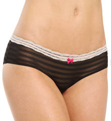 Betsey Johnson Intimates Stripe Hype Hipster Panty 720705