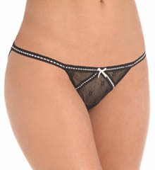 Betsey Johnson Intimates : Betsey Johnson Intimates 721317 Daisy Mesh Bikini Panty