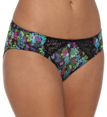 Betsey Johnson Intimates : Betsey Johnson Intimates 721403NZ New and Zen Mesh and Lace Bikini Panty