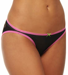 Betsey Johnson Intimates : Betsey Johnson Intimates 721553 Stretch Mesh Butterfly Bikini Panty