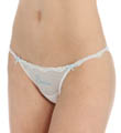 Betsey Johnson Intimates Sheer Marquisette Bridal Bikini Panty 721713