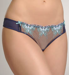 Butterfly Embroidered Lo Rise Thong