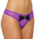 Betsey Johnson Intimates Bow Tied Thong 722409