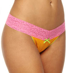 Betsey Johnson Intimates : Betsey Johnson Intimates 722510 Cotton Modal Thong