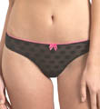 Betsey Johnson Intimates Bubble Mesh Thong 722620