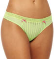 Betsey Johnson Intimates Stocking Stripe Lo Rise Thong 722803