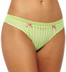 Stocking Stripe Lo Rise Thong