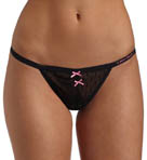 Betsey Johnson Intimates Helenca Dot Stringside Thong 722906