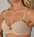 Betsey Johnson Intimates Stretch Mesh Hot Pocket Bump M' Up Bra 723136