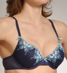 Betsey Johnson Intimates Butterfly Embroidered LL Plunge Bra 723300