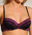 Betsey Johnson Intimates Slinky Knit Demi Bra 723352