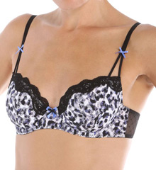 Betsey Johnson Intimates Retro Glamour Demi Bra 723700