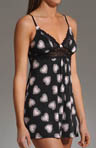 Betsey Johnson Intimates Slinky Knit and Lace Slip 732224