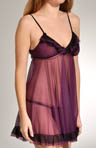 Tricot with Tulle Ruffled Babydoll