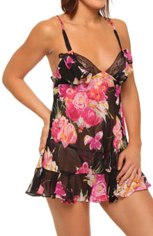 Monet Chiffon Babydoll with G-string