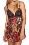 Betsey Johnson Intimates Betsey Mesh Babydoll With G-String 732552