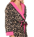 Betsey Johnson Intimates Double Faced Microfleece Robe with Hoodie 734479