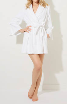 Betsey Johnson Intimates Mrs. Loop Terry Robe 734527