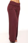 Fleece Wide Leg Pant