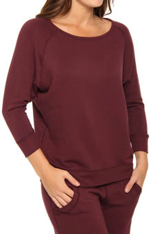 Fleece Relaxed Pullover Top