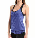 Ethereal Racerback Tank with Contrast Bra Image