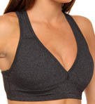 Beyond Yoga Supplex Heather Gray Lift & Support Bra HGE8002