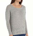 Lurex Sweater Knit Layered Sweater Image