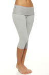 Eco Performance Fold Over Capri Legging