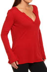 Beyond Yoga Organic Pima Cotton Original Henley Top OP7009