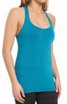Sleek Stripe Twistback Racerback Tank Image