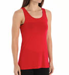 Sleek Stripe Jersey Drape Back Tank Image